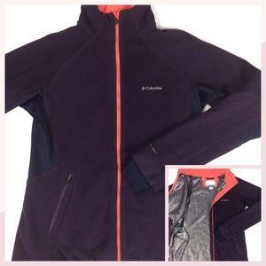 COLUMBIA Omni-Heat Fleece Full-zip Jacket L
